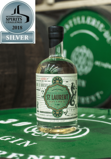 St. Laurent Gin Vieux with award