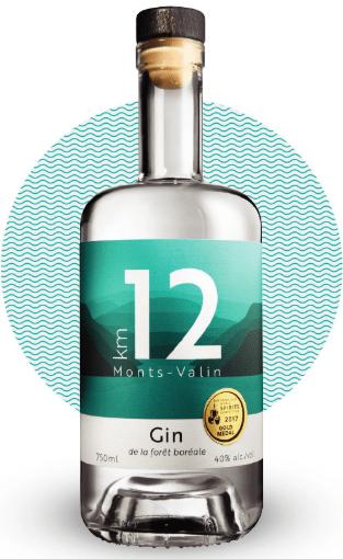 Distillerie du Fjord Gin Km12 bottle